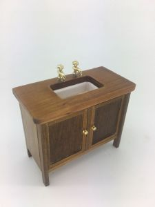 Arts & Craft Bathroom sink unit